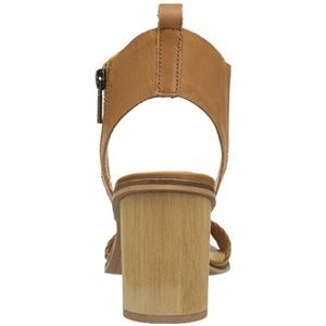 Lucky Brand Shoes - Namaste Genuine Leather Cylindrical Wooden Heel